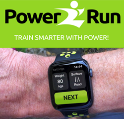 Running App, Apple Watch, Running Power