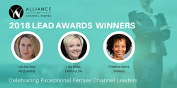 Alliance of Channel Women 2018 LEAD Award Winners