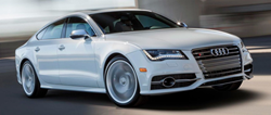 2013 Audi A7 Exterior Passenger Side Front Angle