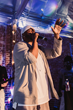 Malik Yusef performs at his album release on October 1, 2018