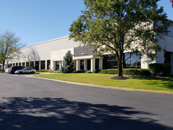 The new LSP Technologies headquarters at 6161 Shamrock Ct., Dublin, Ohio, will provide more room for expanding staff and larger customer parts.