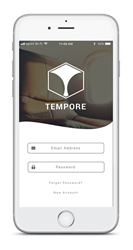 Tempore Home Screen