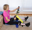 Excy XCS Pro Portable Arm Ergometer Floor Arm Bike Position
