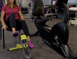 Excy XCS Pro Portable Recumbent Exercise Bike