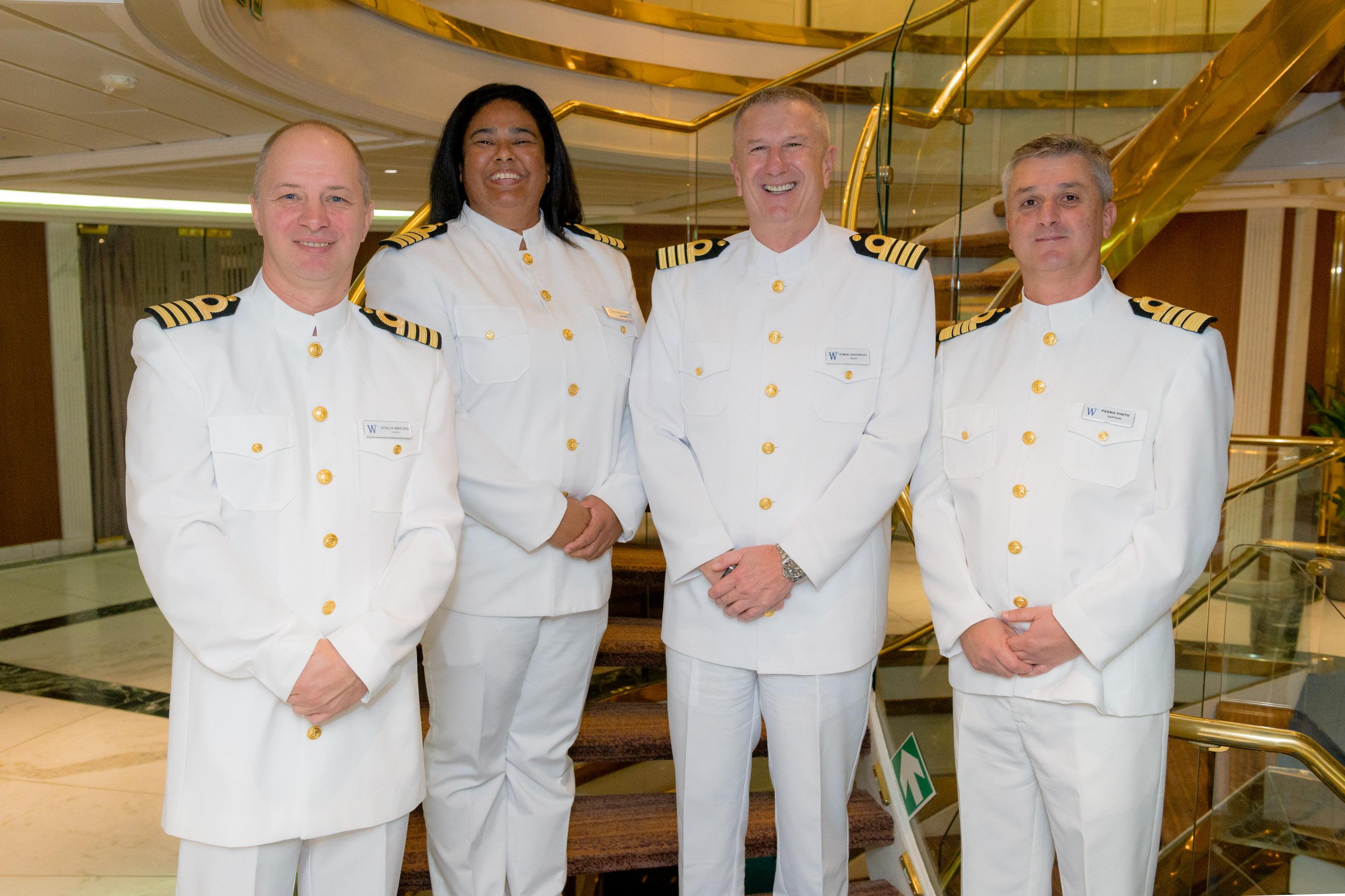 The Windstar Triple Play: Three Cruise Ships Sail from ... Belinda Bennett Sea Captain