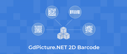 GdPicture.NET SDK supports QR-Code and Micro QR-Code, DataMatrix, PDF417, and Aztec Code reading and writing barcoding features.