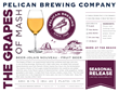 beer, craft beer, beer with wine, Pelican Brewing Company, Oregon, Oregon Coast, award-winning beer