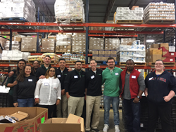 Green Lawn Fertilizing / Green Pest Solutions was Happy to Volunteer at Chester County Food Bank