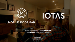Mobile Doorman, the industry innovator of custom-branded resident apps, today announced it is entering into an all-new strategic partnership with IOTAS, the leader of the smart home experience for today's apartment renter