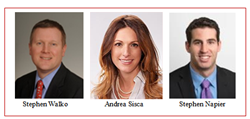 Stephen G. Walko, Esq., Andrea C. Sisca, Esq., Stephen M. Napier, Esq.