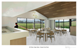 Wayne Leong of Leong Architects, in partnership with the deLeuze family, designed the new ZD Wines hospitality center that features a sleek, modern design that offers unobstructed views of the valley