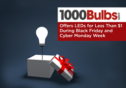 1000Bulbs.com Offers LEDs for Less Than $1 During Black Friday and Cyber Monday Week