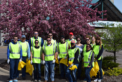Gopher Resource employees help clean the community with Adopt a Highway, Minnesota