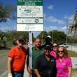 Gopher Resource employees outside their Adopt a Park location as part of Keep Tampa Bay Beautiful campaign.