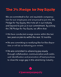 The 3% Pledge for Pay Equity #3percentpayequity