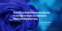 Wanda has served with compassion and distinction...