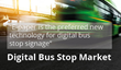 Research shows that e-paper is the preferred new technology for digital bus stop signage