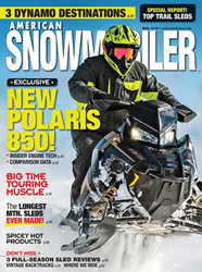 American Snowmobiler Magazine Names Wyoming Guest Ranch Brooks Lake...