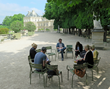 Writers on the Left Bank Writers Retreat can enjoy helpful writing workshops held daily in such inspiring Parisian settings as the Tuileries Garden.