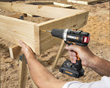 WORX 20V Brushless Drill & Driver tackles big jobs like building raised bed frames.