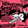 & gallery - Presenting Monsters & Misfits - an art show featuring local Tucson artists such as Don Akers, Gabby Vee, Orion Frantz, Spencer Godfrey and Jonathan Wang