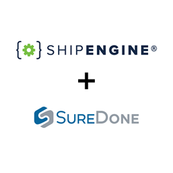 ShipEngine®, the leading logistics API platform, today announced a partnership with SureDone, an all-in-one enterprise e-commerce listing and order management platform.