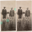 Vintage family photo is restored