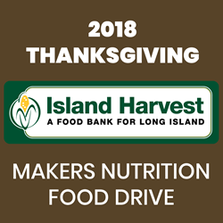 2018 Thanksgiving Makers Nutrition Food Drive