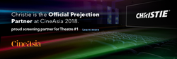 Christie projection partner at Cineasia