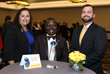 (L to R) 2018 RRAR President Diana Braun, TIC Chair Codjo Cossou & Council Liaison Casey Angel