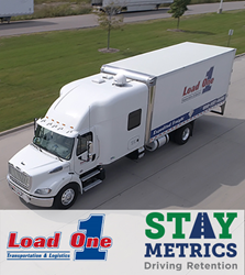 Success Metrics image with Load One and Stay Metrics Logos