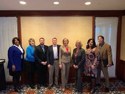NASFAA Board of Directors meet with Education Secretary Betsy DeVos at 2018 FSA Training Conference