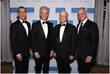 From left to right: Carlos M. Hernandez, Juan Ramon Alaix, Thomas J. Fahey, Jr., MD, Frank A. Calamari