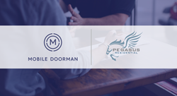 Pegasus Residential and Mobile Doorman Announce Nationwide Partnership. The apartment manager will launch the custom apps across 90 percent of its portfolio.
