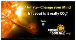 New Friends of Science billboard campaign across Canada.