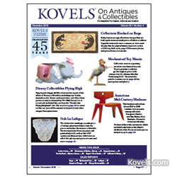 kovels, antiques, collectibles, hooked rugs, disney, mechanical toys, lalique, american design