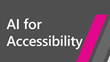 logo for AI for Accessibility Grant