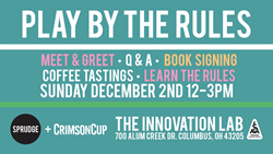 The New Rules of Coffee Book Tour at the Crimson Cup Innovation Lab in Columbus, Ohio