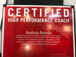 Certified High Performance Coach