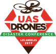 UAS DRONES Disaster Conference Los Angeles 2019 Logo