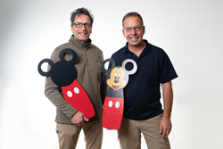 Mickey Smart Shelf founders, Ed and Dan Cass,