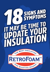 signs of poor insulation checklist