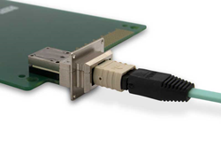 LightVISION MPO compatible rugged optical transceiver