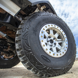 Battle-tested in the harsh deserts of the Baja 1000 and the jagged rocks of King of the Hammers, the next-generation Pro Comp Trilogy Beadlock Wheel (Series 75) can take on the most extreme terrain imaginable.