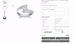 Barkev's now allows e-shoppers to try on rings in the comfort of their home