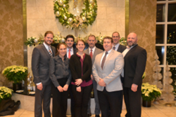 Garland employees attended the Pillar Award event to accept the award on behalf of the company