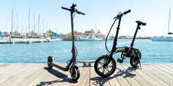 electric scooters and e-bikes for sale