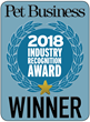 Industry Recognition Award WINNER 2018