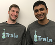 Trala Co-Founders Sam Walder and Vishnu Indukuri