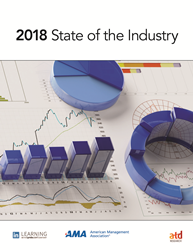 ATD's State of the Industry report is a key benchmarking resource for the talent development field.